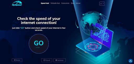 test my wifi connection