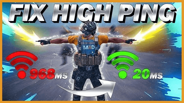 High Ping in Pubg pc