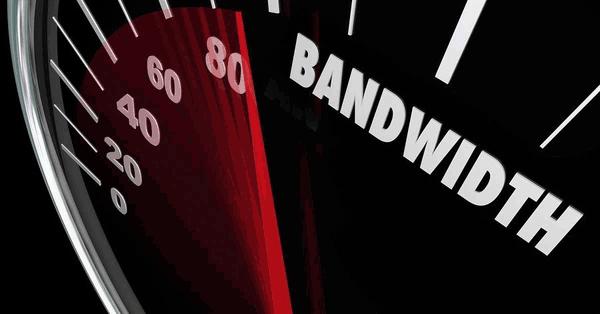 Bandwidth requirements