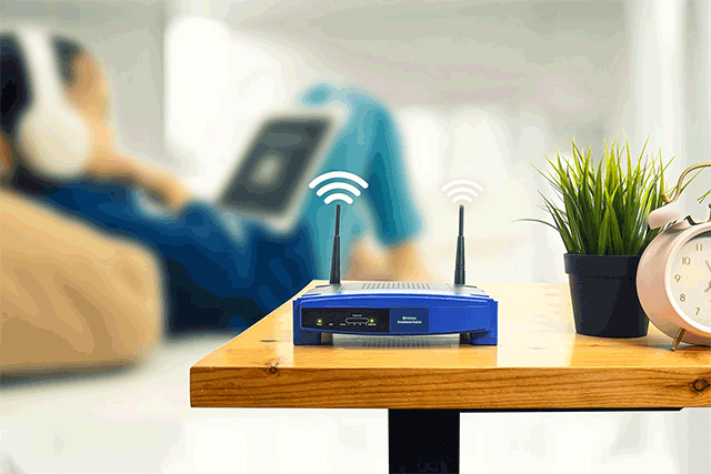 How to change the location of my wifi router