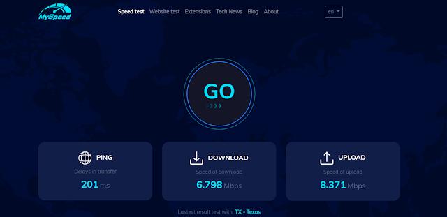 MySpeed - Wifi speed test