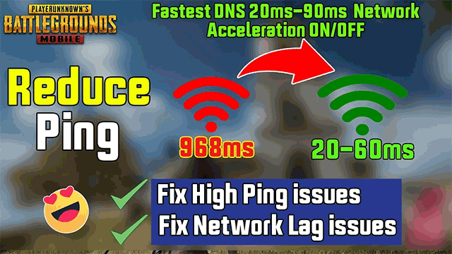 Ping in Pubg mobile