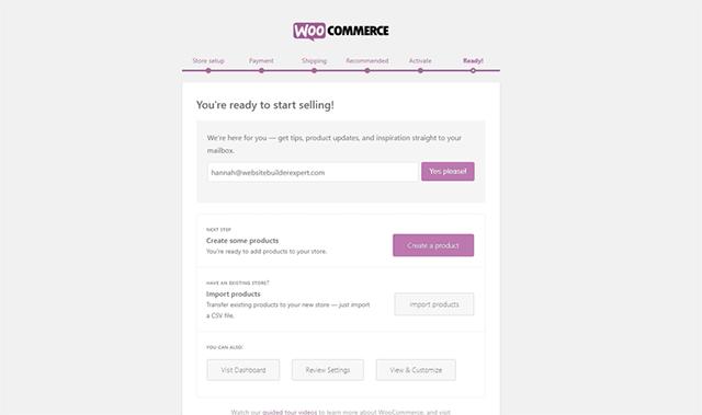How to create eCommerce website in WordPress free