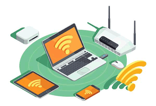 Many devices connected to Wifi
