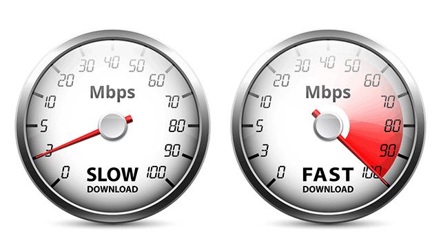 solve slow internet