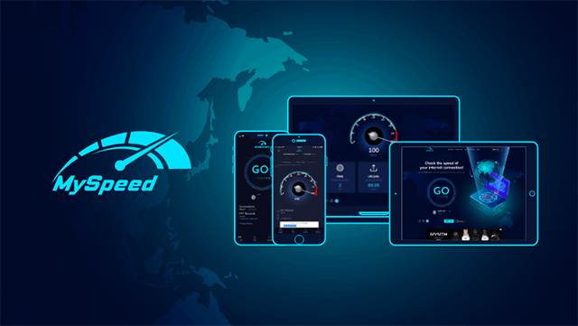 Test ping rate and upload, download speeds