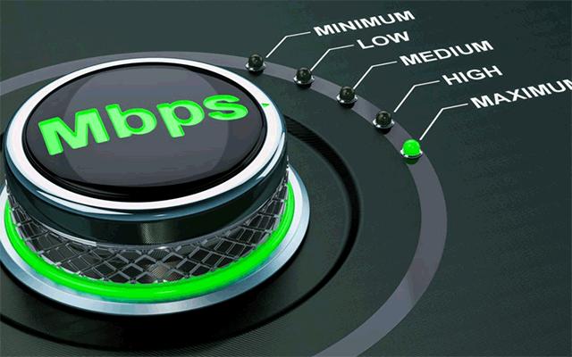 Mbps stands for megabit per second