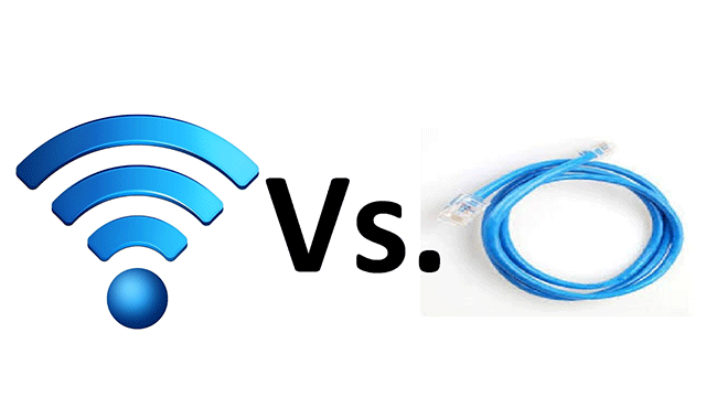 Wireless vs wired networks