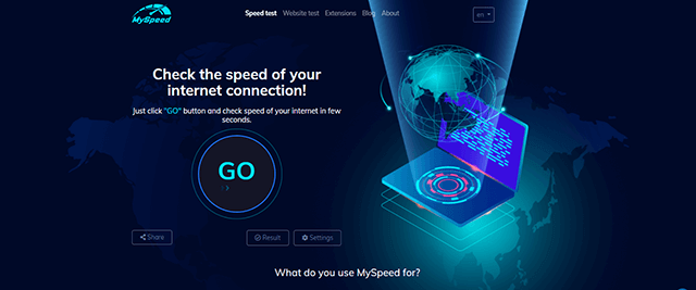 How to test internet speed on phone