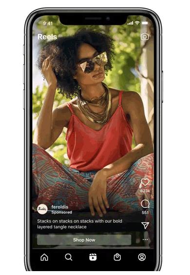 Instagram Reels paid ads