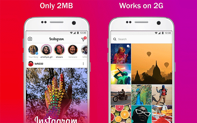 New Instagram Lite available for Android devices in 170 countries