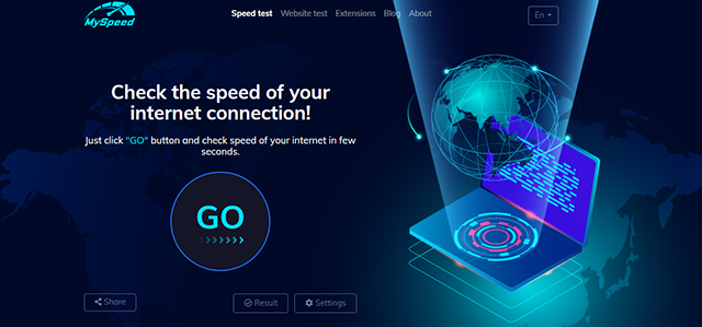 speed check network connection