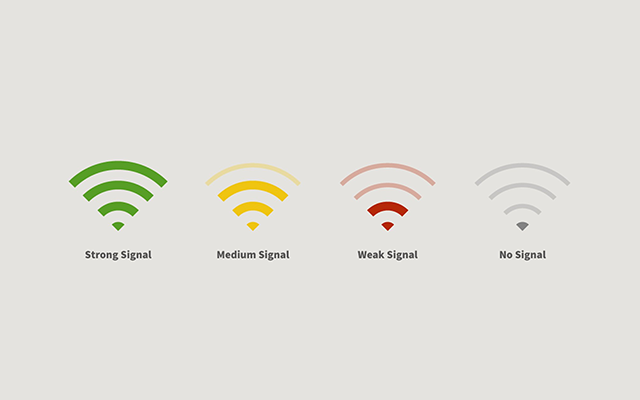 Speed check online: Where to place a router for the best Wifi signals?