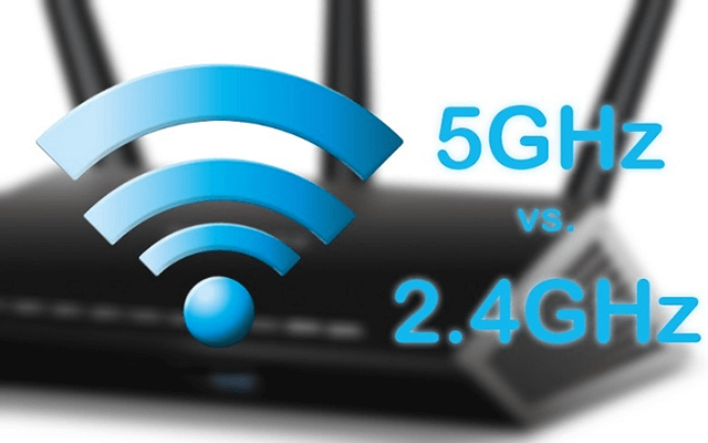 Speed test 5G WiFi: 5G WiFi versus 2.4G WiFi