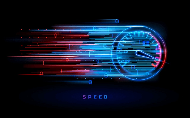 What is a good result for the internet speed test?