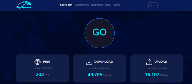 website test speed